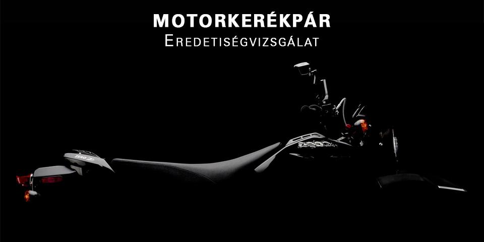 Motorkerékpár  eredetiségvizsgálat